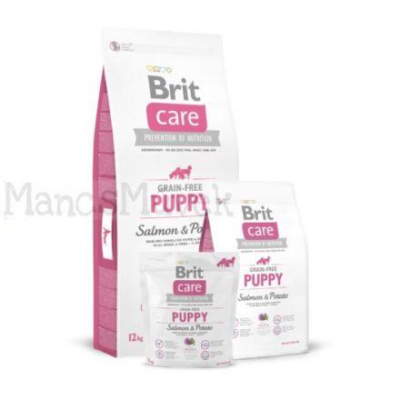PUPPY -SALMON & POTATO grain free - Brit Care