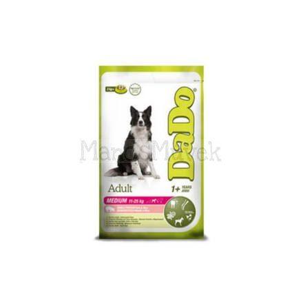 SERTÁS+MÁJ hipoallergén kutyatáp KÖZEPES FELNŐTT kutyának - 12 kg - DADO