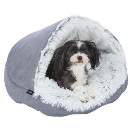 Bebújós kutyafekhely, peremes kutyakuckó 50 cm, Trixie Timber Cave Bed