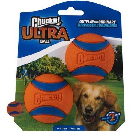 Chuckit! Ultra Ball Duo labda szett kutyának - 2 db - Az Elnyűhetetlen - medium