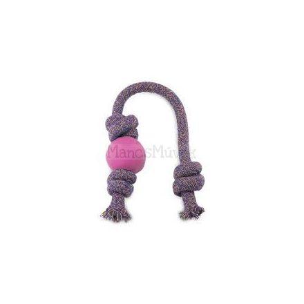 Méreganyagmentes gumilabda  kötélen -  s - rózsaszín - Beco