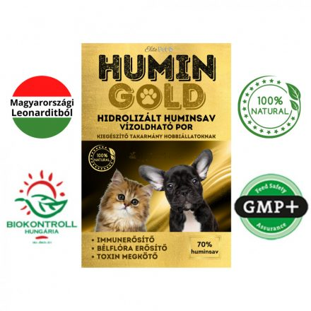 Humin Gold - hidrolizált, magas felszívódású huminsav