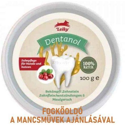 Fogkő, szájszag, ínygyulladás ellen kutyának és cicának - leiky dentanol
