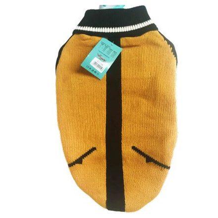 Kötött szívmintás pulóver kutyának