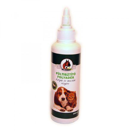 Petproduct gyógynövényes fültisztító kutyának és macskának