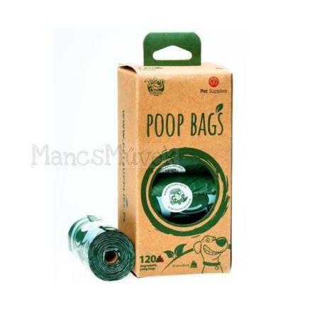 Tobys eco poop bags lebomló kakizacskó  120 db-os