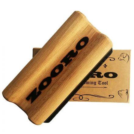 Zooro szőreltávolító kefe kutyának és macskának